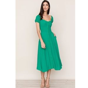 New YUMI KIM Mercer Street Dress x Anthropologie